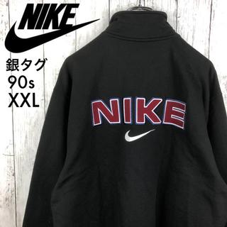NIKE - 【新品未使用】【銀タグ】【ナイキ】デカロゴ ☆ハーフジップ スウェット☆XXL