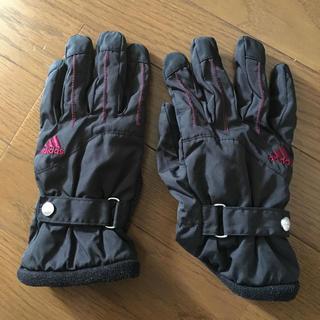 アディダス(adidas)の裏起毛生地 手袋(手袋)