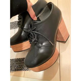 WEGO - WEGO厚底ショートブーツ スニーカー 春ブーツ 美品
