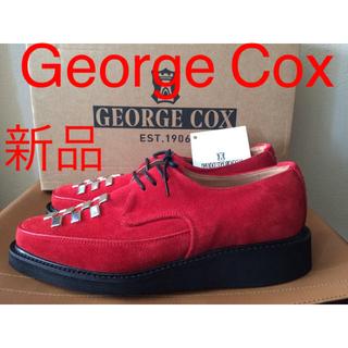ジョージコックス(GEORGE COX)の新品定価6.5万程 ジョージ コックス スタッズ ダービーシューズ 革靴(その他)