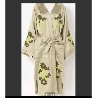 SLY - 新品 SLY CLEMATIS EMBROIDERY GOWN