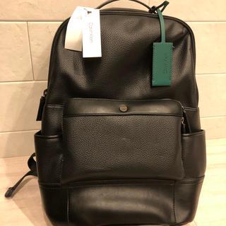 Calvin Klein - リュック バックパック カルバンクラインck 緑タグ付き 黒