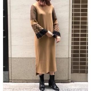 mame - 新品未使用  19FW mame kurogouchi  ニットワンピース