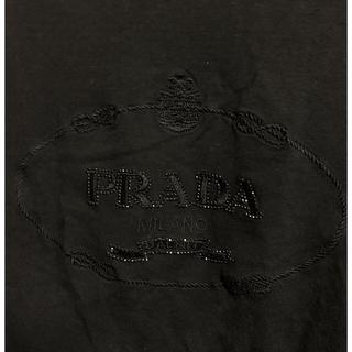 プラダ(PRADA)の「希少」PRADA プラダ ロングtシャツ ビッグロゴ(Tシャツ/カットソー(七分/長袖))