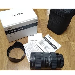 シグマ(SIGMA)のSIGMA 18-35 f1.8 art Canon EF-S用(レンズ(ズーム))