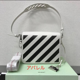 OFF-WHITE - 新品 2019AW OFF-WHITE DIAGONAL ショルダーバッグ 白