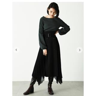 FRAY I.D - FRAY I.D  大人気 完売 プリーツコンビスカート
