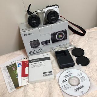 Canon - Canon EOS M3 Wレンズキット