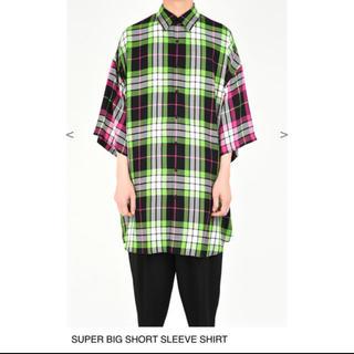 ラッドミュージシャン(LAD MUSICIAN)の19ss SUPER BIG SHORT SLEEVE SHIRT(シャツ)