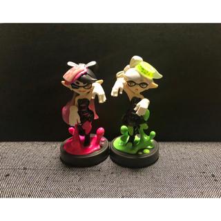 Nintendo Switch - amiibo アオリ ホタル シオカラーズ スプラトゥーン アミーボ