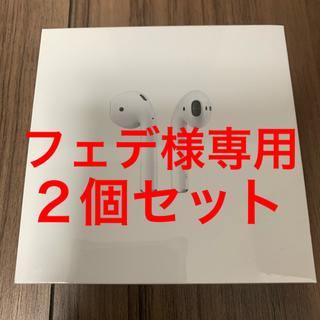 Apple - 正規品 日本販売品、AirPods 第2世代  MV7N2J/A ②