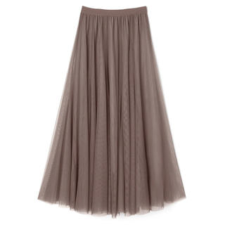 GRL - GRL sweet掲載 チュールロングスカート