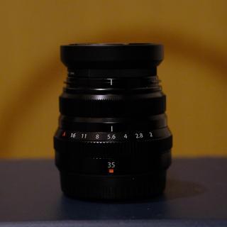 フジフイルム(富士フイルム)のフジフイルム 日本製 XF35mm F2.0 FUJIFILM 単焦点レンズ(レンズ(単焦点))