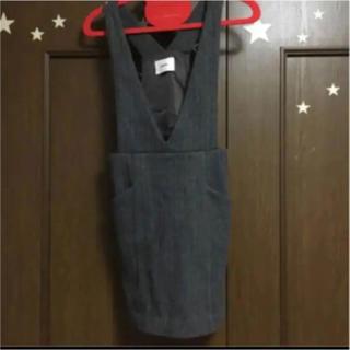 MURUA - MURUA ジャンパースカート グレー