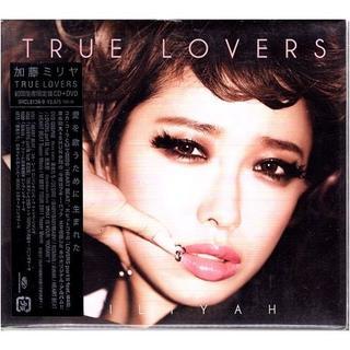 ■『加藤ミリヤ/TRUE LOVERS 初回生産限定盤』訳あり新品CD+DVD■(ポップス/ロック(邦楽))