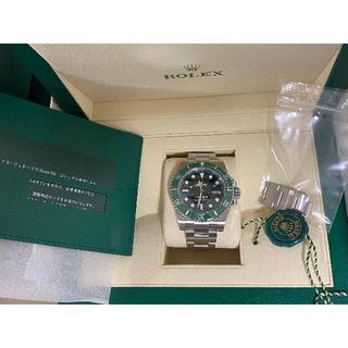 ロレックス(ROLEX)のROLEX グリーンサブマリーナ 116610LV 国内正規品新品(腕時計(アナログ))