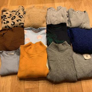 激安‼︎ニット セーター 12点まとめ売り レディース(ニット/セーター)