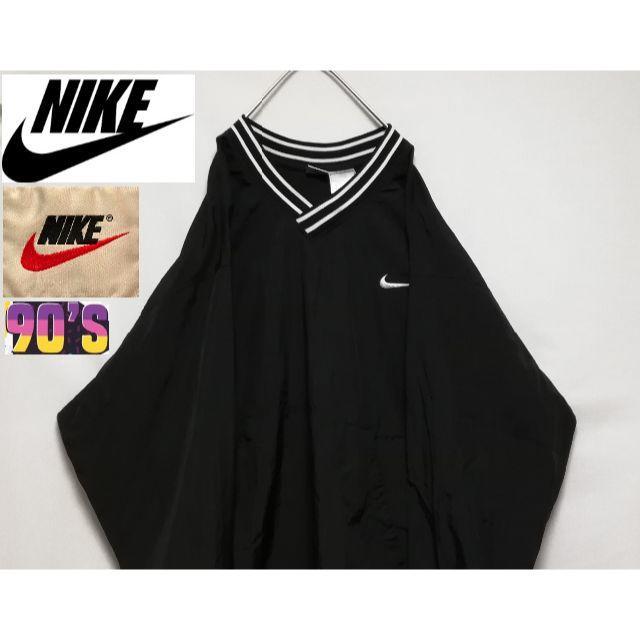 NIKE(ナイキ)の90'S NIKE 銀タグ ナイロンプルオーバージャケット XXL メンズのジャケット/アウター(ナイロンジャケット)の商品写真