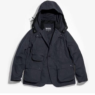 Engineered Garments - 新品73700円紺 EG X BARBOUR UPLANDJACKETオーラリー