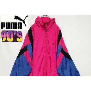 プーマ(PUMA)の90'S PUMA ナイロンジャケット クレイジーカラー(ナイロンジャケット)