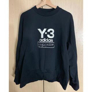 ワイスリー(Y-3)の国内正規 Y3 ワイスリー トレーナー ブラックL アディダス adidas(ニット/セーター)