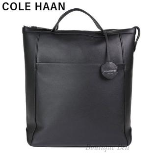 Cole Haan - コールハーン グランドシリーズ アンビション レザー バックパック ブラック