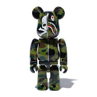 MEDICOM TOY - MM BAPE BE@RBRICK 100%&400%