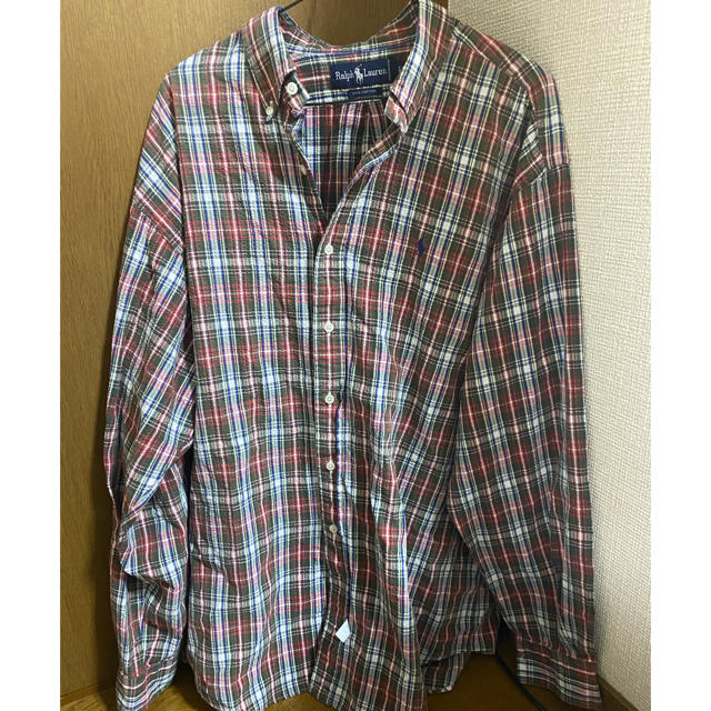 Ralph Lauren(ラルフローレン)のRalph Laurren  ラルフローレン  コットンチェックシャツ メンズのトップス(シャツ)の商品写真