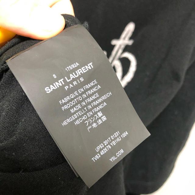 Saint Laurent(サンローラン)の新品未使用 約 定価5万サンローランリップT タグ付き メンズのトップス(Tシャツ/カットソー(半袖/袖なし))の商品写真