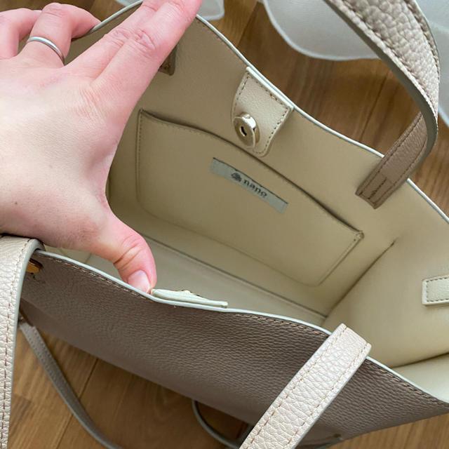 nano・universe(ナノユニバース)のレザーショルダーバッグ レディースのバッグ(ショルダーバッグ)の商品写真