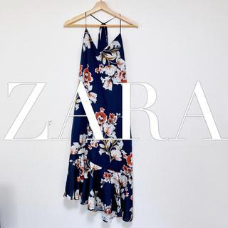ZARA - ZARA キャミワンピ ワンピース フリル