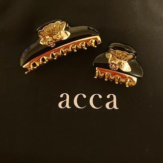 アッカ(acca)のacca ヘアクリップ 中小セット(バレッタ/ヘアクリップ)