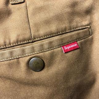 Supreme - supreme  work pants ワークパンツ  32 ブラウン系
