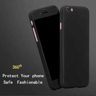 全面保護 360度フルカバー 強化ガラス付(iPhoneケース)