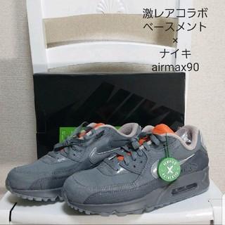 ナイキ(NIKE)の最終値下げ 日本未発売 ベースメント×ナイキ 激レアコラボ airmax90(スニーカー)