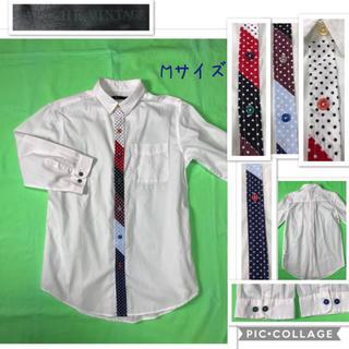 ブラウニー(BROWNY)の男性 M《APACHE VINTAGE》(カラフル(ドット&ボタン))シャツ(シャツ)