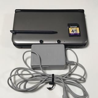 ニンテンドー3DS - ニンテンドー3DS LL シルバー×ブラック