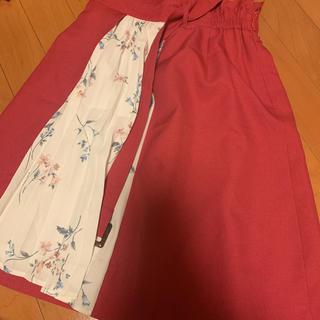 ビーラディエンス(BE RADIANCE)のピンク♡スカート(ひざ丈スカート)