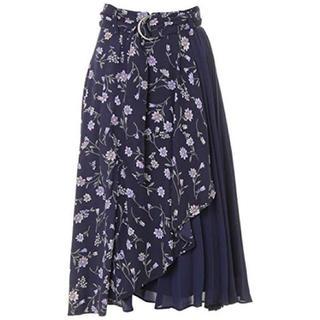 INGNI - 花柄スカート