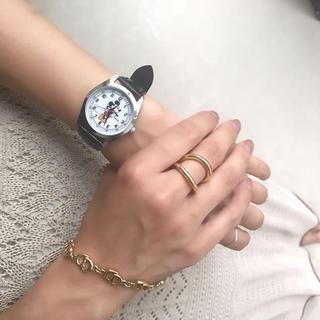 ミッキーマウス - 大人ミューズ 💫付録 ミッキーの腕時計