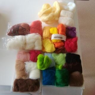 羊毛フェルト 糸