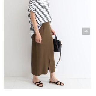 FRAMeWORK - 美品 2019SS フレームワーク C/NY スムースタイトスカート