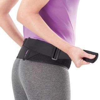 ミズノ(MIZUNO)のミズノ 腰部骨盤ベルト(補助ベルト付き)ノーマルタイプ(エクササイズ用品)