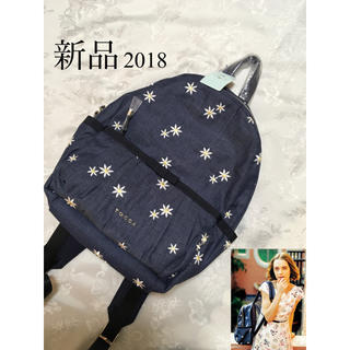 TOCCA - 新品 TOCCA DAISY EMBROIDERED BACKPACK リュック