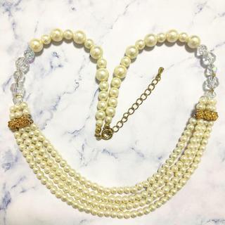 ロキエ(Lochie)のRetro * pearl beads necklace(ネックレス)