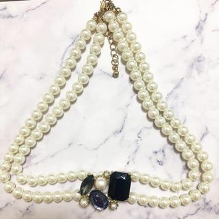 ロキエ(Lochie)のRetro * pearl bijou choker necklace(ネックレス)