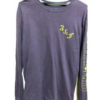 Abercrombie&Fitch - アバクロシャツ【スカルサイドロゴ.最終価格】
