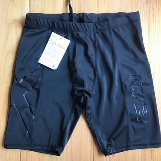 ツータイムズユー(2XU)の2XU  メンズ ショートパンツ Lサイズ black(ショートパンツ)