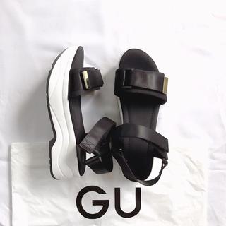 ジーユー(GU)のgu ジーユー 大人気 スポーツサンダル Lサイズ(サンダル)
