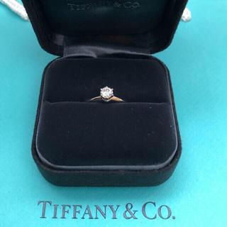 Tiffany & Co. - 美品 ティファニー  Tiffany 婚約指輪 ダイヤ 0.5ct 13号